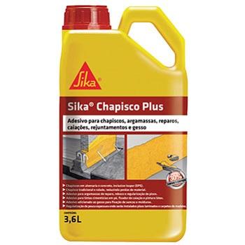Adesivo Argamassa 3,6 Litros Chapisco Plus - Ref.427965 - SiKA
