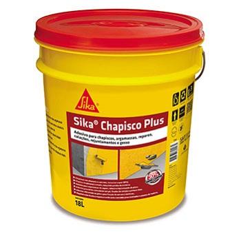 Adesivo Argamassa 18 Litros Chapisco Plus - Ref. 427768 - SIKA