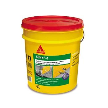 Impermeabilizante 18L Concreto Argamassa 18KG - Ref.427550 - SIKA1