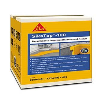 Impermeabilizante Revestimento 4KG SiKATOP 100 - Ref.428058 - SIKA