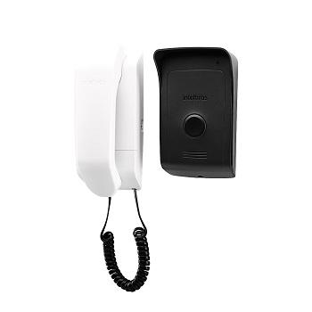 Porteiro Eletrônico Bivolt Sobrepor IPR1010 Preto/Branco - Ref. 4521020 - INTELBRAS