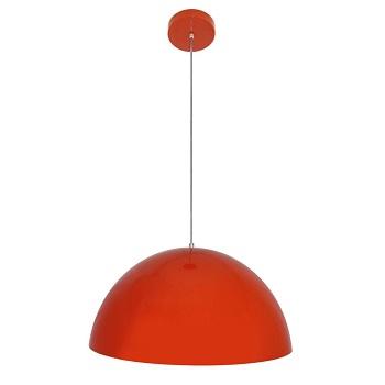 Pendente Acrílico 60w Falls Mast Vermelho - Ref.VL3107VM - VILLAPLAST
