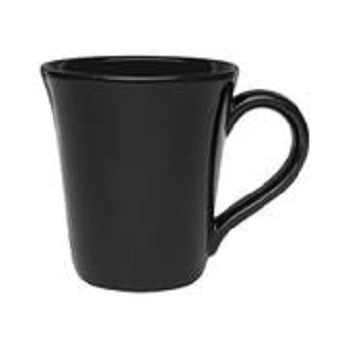 Caneca 330ml Tulipa Preto A637-0806 - Ref.004222 - OXFORD