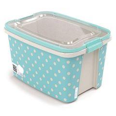 Caixa Plástica 6,2 Litros Retangular Gran Box Com Trava e Alça - Ref.008857 - PLASUTI