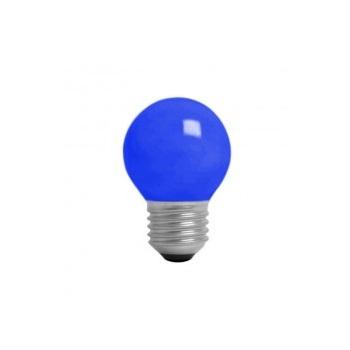 Lâmpada Incandescente 15W 220V Bolinha Azul E27 - Ref. 4719 - KIAN