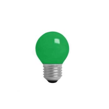 Lâmpada Incandescente 15W 220V Bolinha Verde E27 - Ref. 4724 - KIAN