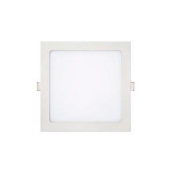 Plafon Alumínio Led 24W Bivolt Slim Embutir Quadrado 6000K - Ref. 10428 - KIAN