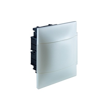 Quadro Distribuição PVC 4D Embutir Branco - Ref.134004 - CEMAR