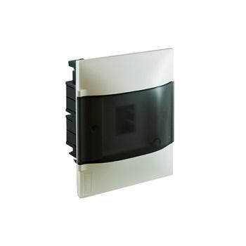 Quadro Distribuição PVC 4D Embutir Transparente - Ref.134014 - CEMAR