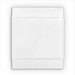 Quadro Distribuição PVC 24D Embutir Branco - Ref.135002 - CEMAR