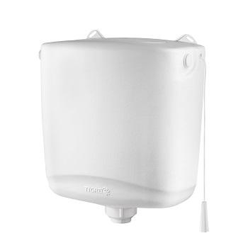 Caixa Para Descarga Plástica 6,8 Litros Branca - Ref.100018098 - TIGRE