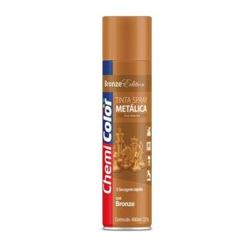 Tinta Spray Metálica Bronze 400ml - Ref. 680186 - CHEMICOLOR