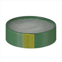 Peneira Galvanizada 55cm Café Aro PVC Verde - Ref.23680 - TELAS MM