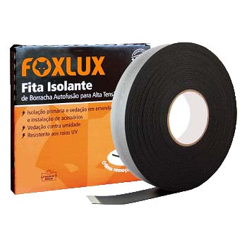Fita Isololante Auto Fusão 19mmx5m - Ref. 10.52 -  FOXLUX