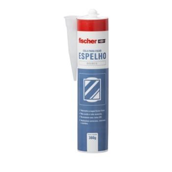 Adesivo para Fixar Espelho Branco 360g - Ref. 600436 - FISCHER