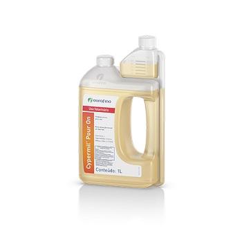 Carrapaticida Cypermil Pour On 1 Litro - Ref.10000068 - OUROFINO
