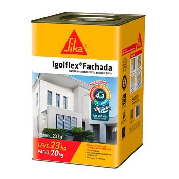 Impermeabilizante Acrílico 23kg Igolflex Fach Branco - Ref. 561383 - SIKA