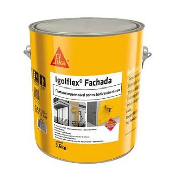 Impermeabilizante Acril 4,7KG IGOLFLEX Fachada Branco -Ref.561381 - SIKA