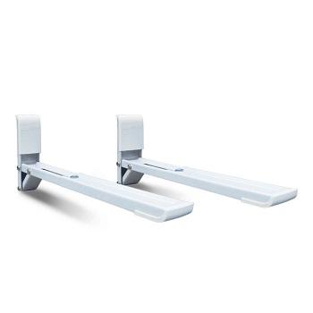 Suporte em Aço para Micro-ondas Ajustável Branco - Ref.SBR3.6 - BRASFORMA