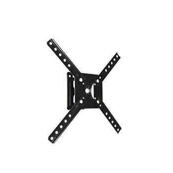 Suporte de Aço para Tv de 10A55 polegadas Articulável 2 Movimentos Preto - Ref.SBRLB120 - BRASFORMA