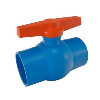 Registro Esfera Irrigação PVC 50MM Soldável - Ref. 2010105 - VIQUA