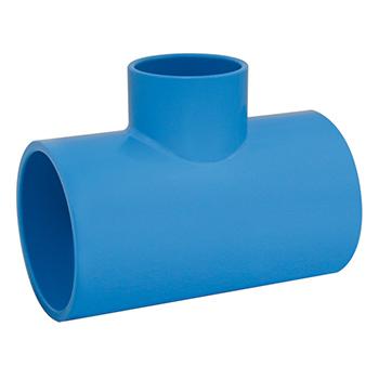TÊ Irrigação Redução PVC 75x50mm - Ref. 2090612 - VIQUA