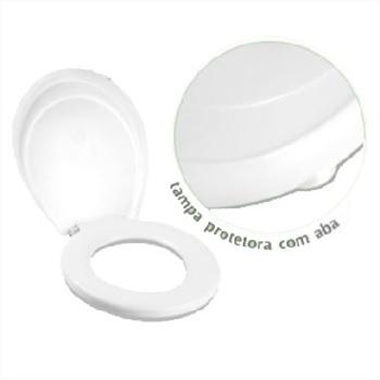 Assento Plástico Hygienic Branco - Ref.8 - GRANPLAST