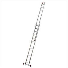 Escada Alumínio 9 Degraus Extensiva - Ref.ESC0618 - BOTAFOGO