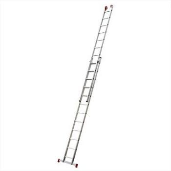 Escada Alumínio 13 Degraus Extensiva - Ref. ESC0622 - BOTAFOGO