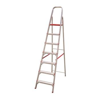 Escada Alumínio 7 Degraus Tesoura - Ref. ESC0066 - BOTAFOGO