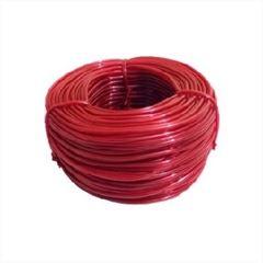 Espaguete PVC 5X6,8mm Vermelho Opaco 1kg - Ref.420 -PLASTMAR