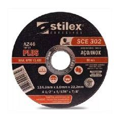 Disco Corte 7X1/16X7/8 Inox SCE 302 - Ref. DC028 - STILEX
