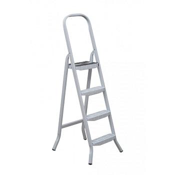 Escada De Aço 4 Degraus Tesoura Premium - Ref. 04804 - MAESTRO
