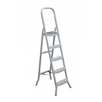 Escada De Aço 5 Degraus Tesoura Premium - Ref. 04805 - MAESTRO