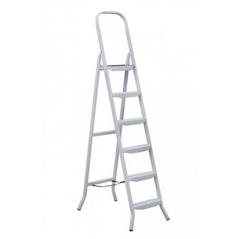 Escada De Aço 6 Degraus Tesoura Premium - Ref. 04806 - MAESTRO