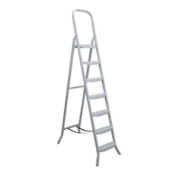Escada Aço 7 Degraus Tesoura Premium - Ref. 04807 - MAESTRO