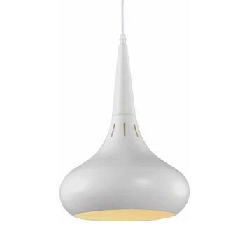 Pendente Drop P em Metal Branco Fosco - Ref. DI62579 - DILUX