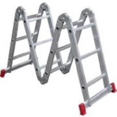 Escada De Alumínio 3x4 Degraus Articulável Com 13 Posições - Ref.ESC0292 - BOTAFOGO