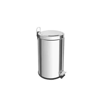 Lixeira de Inox 12 Litros com Pedal Brasil - Ref. 94538/112 - TRAMONTINA