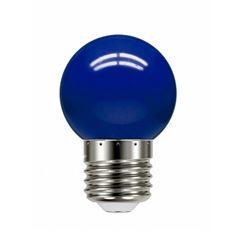 Lâmpada LED 1w 220v Bolinha Azul - Ref.11080081 - TASCHIBRA