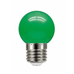 Lâmpada LED 1w 220v Bolinha Verde - Ref. 11080083 - TASCHIBRA