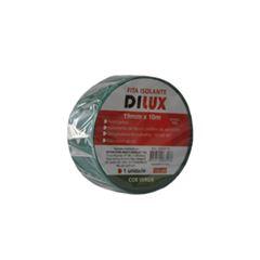 Fita Isolante 19mmx10m Verde - Ref. DI63576 - DILUX