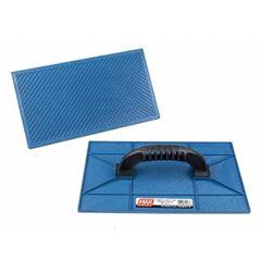 Desempenadeira Plástica 17x30cm Frisada Azul - Ref. 28110 - MAX FERRAMENTAS