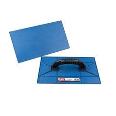 Desempenadeira Plástica 17x30cm Lisa Azul - Ref. 28310 - MAX FERRAMENTAS