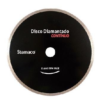 Disco Diamantado 180mm Contínuo Tornado - Ref.4455- STAMACO