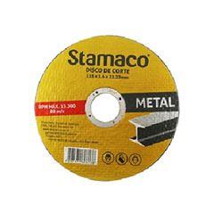 Disco de Corte 115mm para Metal - Ref.6138 - STAMACO