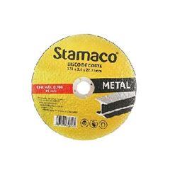 Disco Corte em Metal 178mm - Ref.6145 - STAMACO