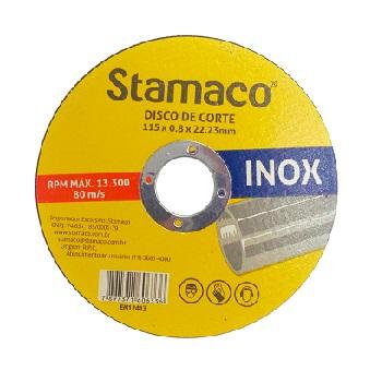 Disco de Corte 115x3,0mm para Metal - Ref.6336 -  STAMACO