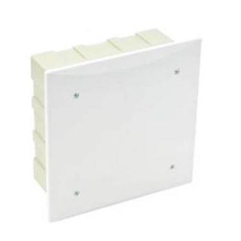 Caixa Passagem PVC 300mm Embutir Quadrada - Ref.911005 - CEMAR
