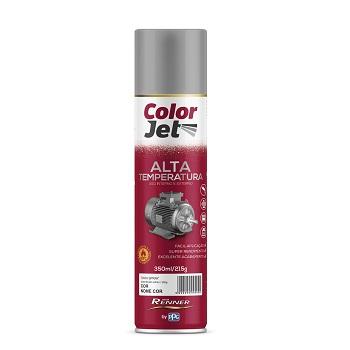 Tinta Spray Alta Temperatura 350ml Color Jet Alumínio - Ref.1651.80 - TINTAS RENNER